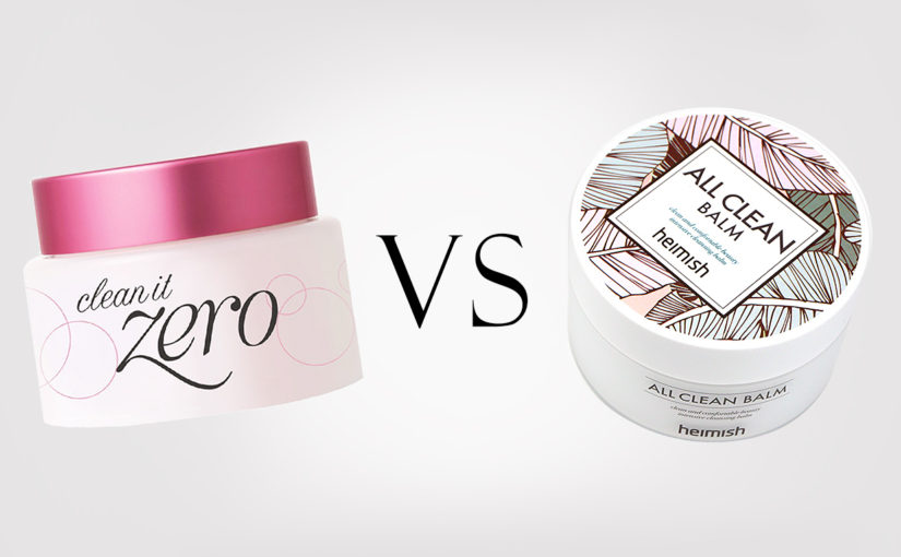 Banila Co Clean It Zero VS Heimish All Clean Balm
