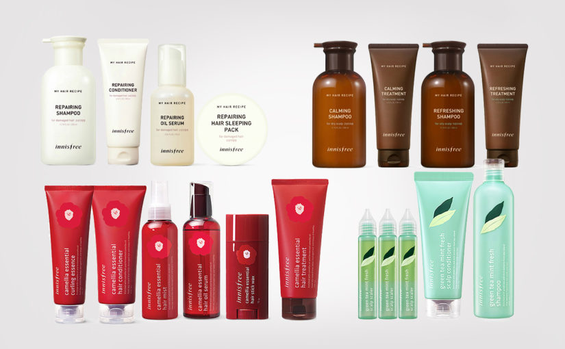 Best hair care from Korea and Korean brands Innisfree & Nature Republic