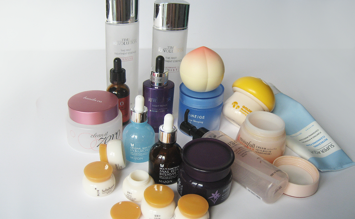 My empties Korean skin care products I have used up K-beauty Blog Europe