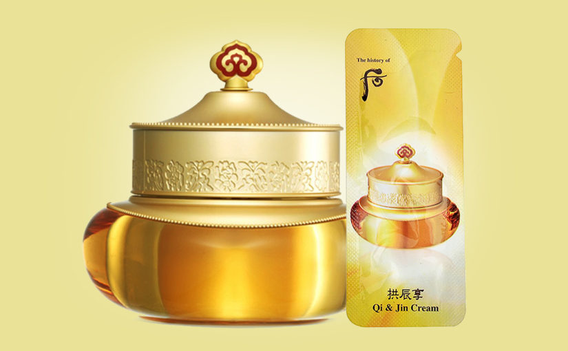 Buy The History of Whoo Gongjinhyang Qi & Jin Cream from Korea | K-beauty webshop