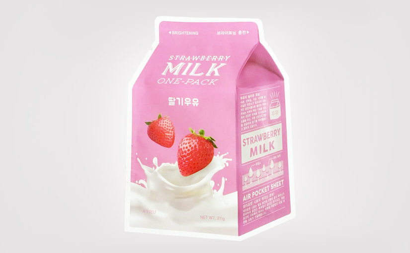 FIRST IMPRESSION: A'PIEU Strawberry Milk One Pack Mask