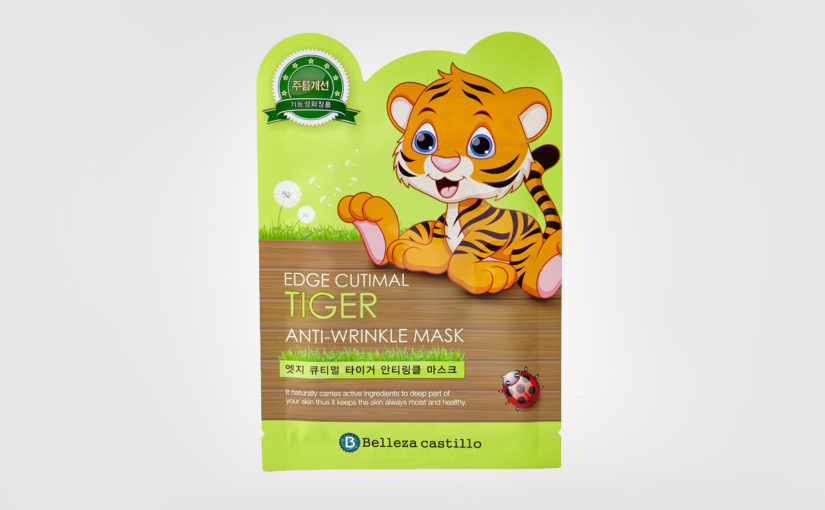 Belleza Castillo Edge Cutimal Mask Tiger Anti-wrinkle