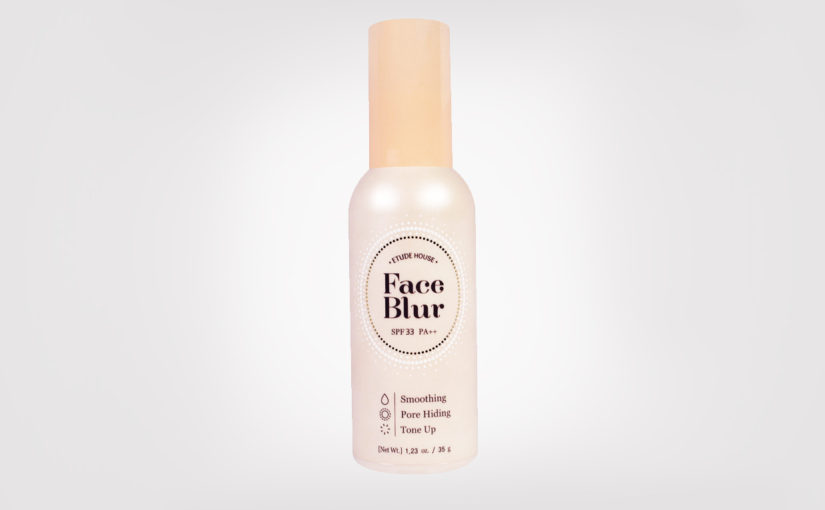 First impression review Etude House Face Blur Primer SPF33/PA++ from Korea Korean Makeup K-Beauty Blog Europe