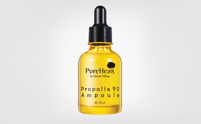 FIRST IMPRESSION: PureHeal's Propolis 90 Ampoule