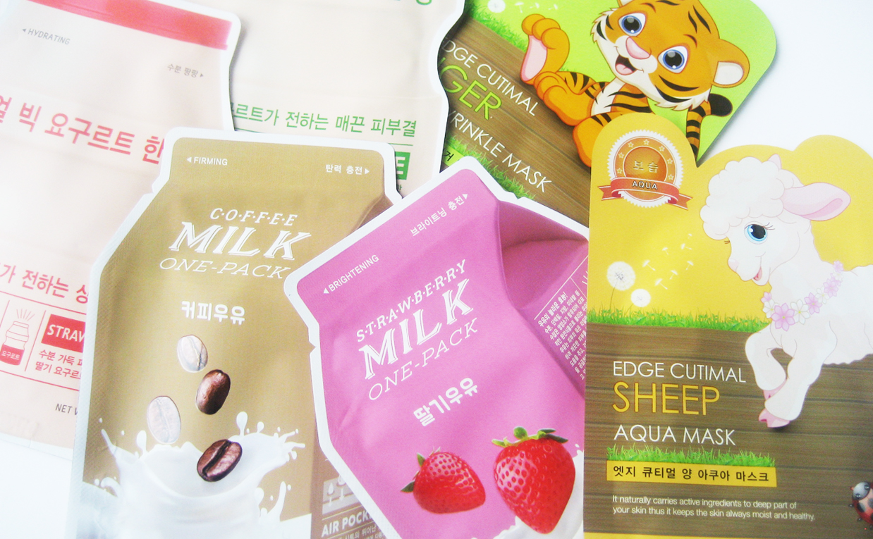 GIVEAWAY 6 sheet masks in collaboration with Tokkitokki Korean skin care K-beauty Blog Europe