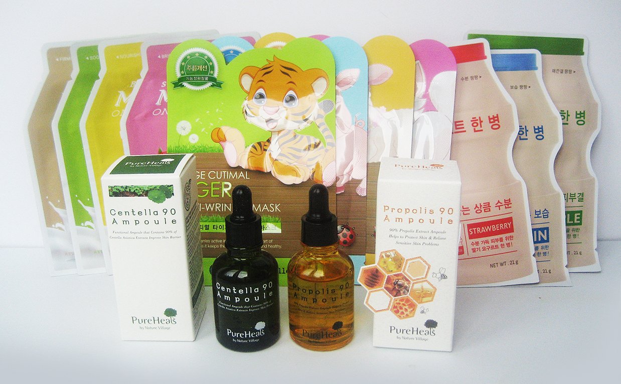 K-beauty Unboxing video HAUL with Tokkitokki Korean skin care K-beauty Blog Europe