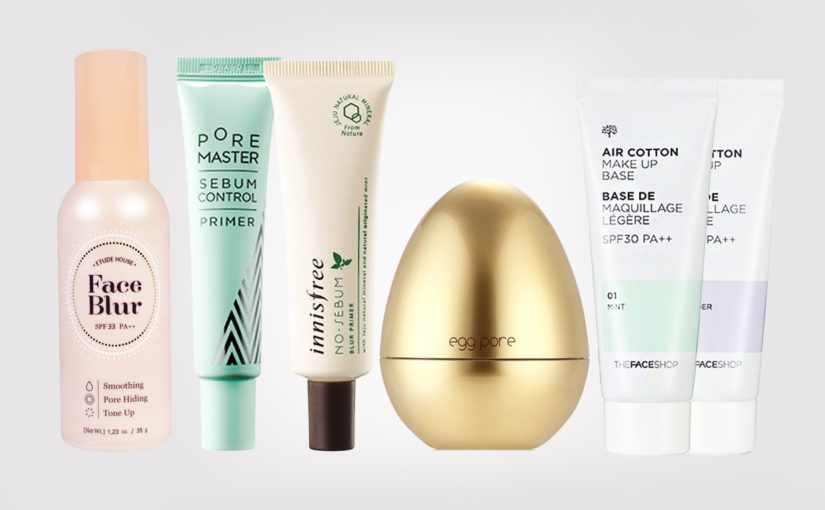 Top 5 best primers from Korea