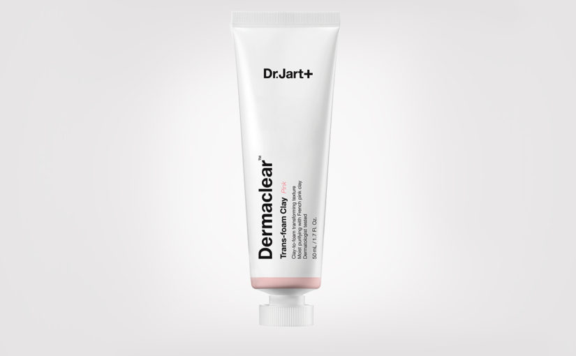 FIRST IMPRESSION: Dr. Jart+ Dermaclear Trans-Foam Clay Moisturizing Pink