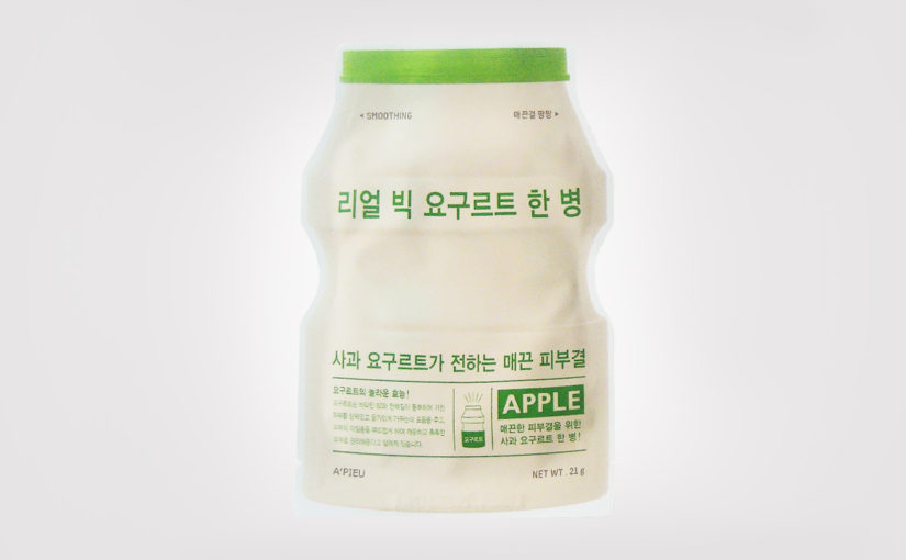 FIRST IMPRESSION: A'PIEU Real Big Yogurt One Bottle Apple