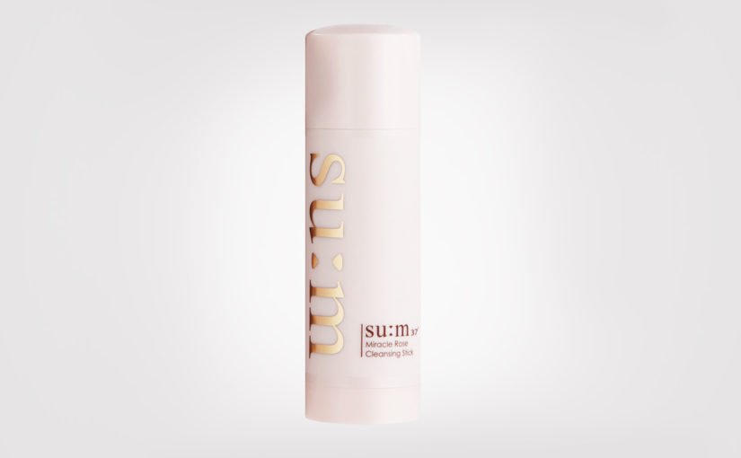 FIRST IMPRESSION: SU:M37 Miracle Rose Cleansing Stick