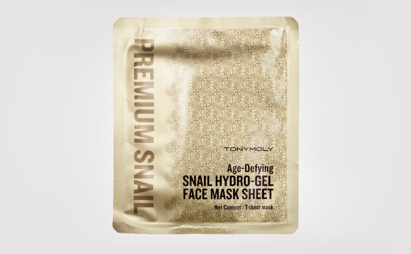 FIRST IMPRESSION: Tonymoly Age-Defying Snail Hydro-Gel Face Mask Sheet