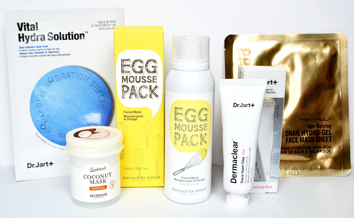 SEPHORA GIVEAWAY products from Korea ended The 3 winners of Korean Skin Care products from Korea K-Beauty Blog Europe