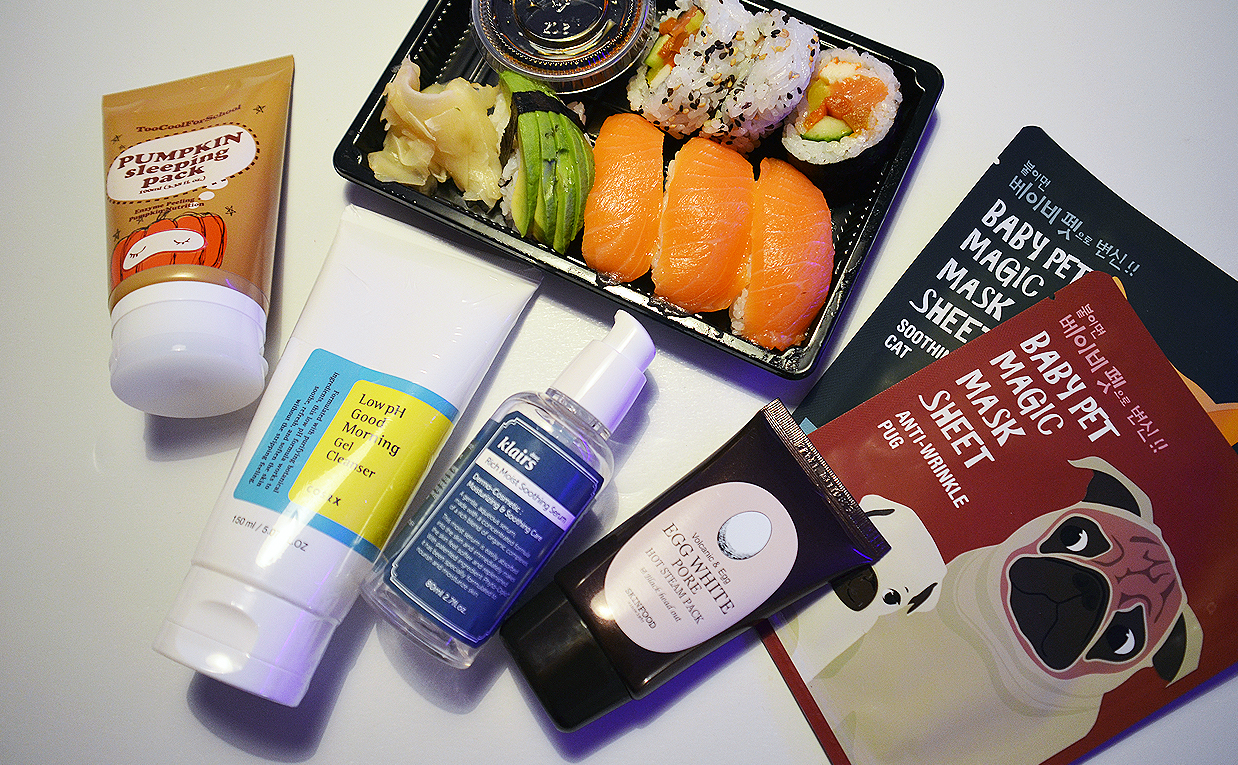 SPA night with Korean skin care products from Korea only K-beauty Blog Europe