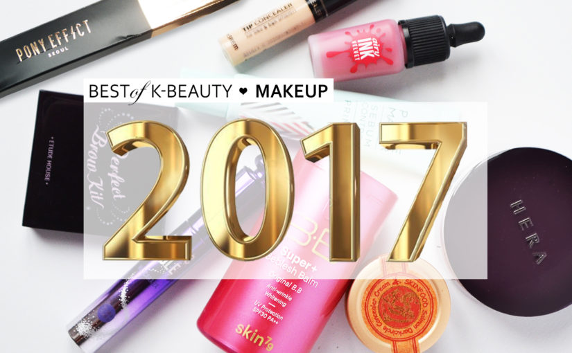 Best of Beauty 2017 Best K-beauty Favorites Korean Makeup 2017 You just can't miss K-beauty products from Korea
