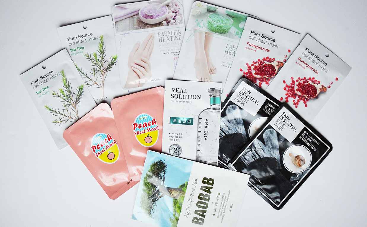 Unboxing haul in collaboration with Smaskmask Korean skin care sheet masks from Korea K-beauty Blog Europe