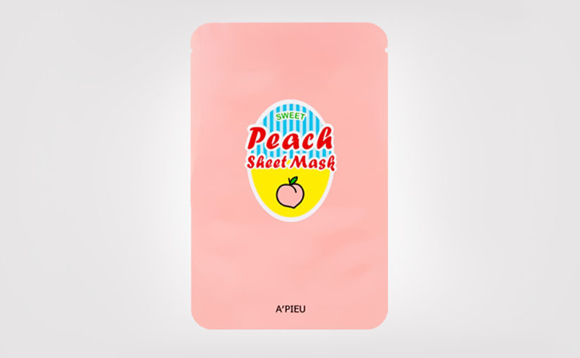 FIRST IMPRESSION: A'pieu Sweet Peach Sheet Mask