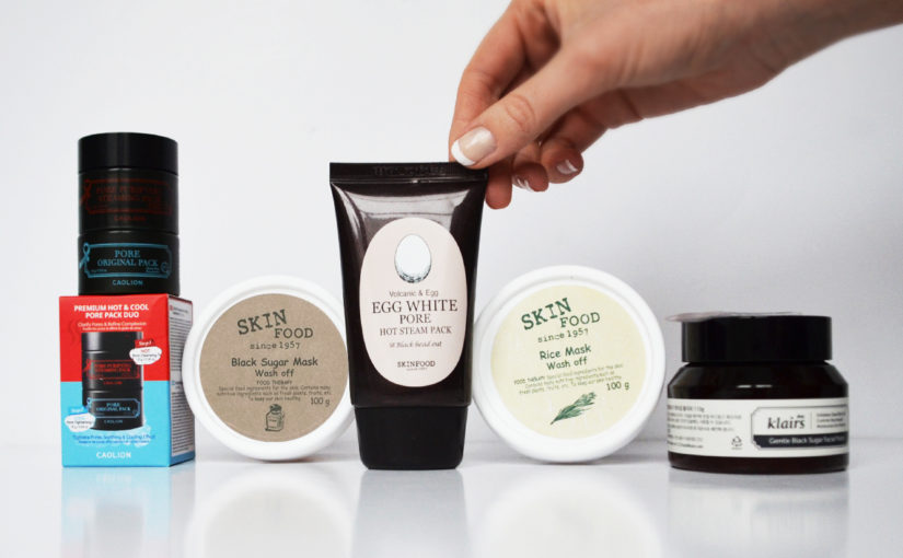 Top 5 best Korean facial scrubs / peeling / exfoliation