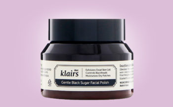 Buy Klairs Gentle Black Sugar Facial Polish facial scrub mask from Korea K-beauty webshop Korean skin care pores blackeads