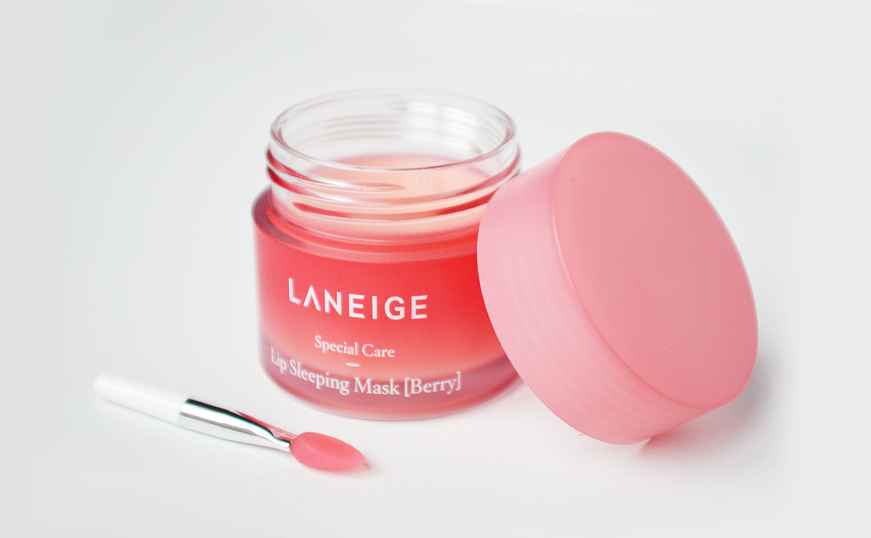 First impression review Laneige Lip Sleeping Mask Lip mask from Korea Korean Skin Care K-beauty Blog Europe