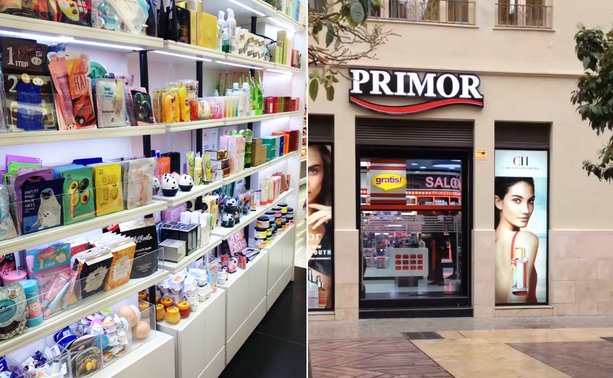 K-beauty Blog Europe in Spain Primor All about Korean skin care and makeup