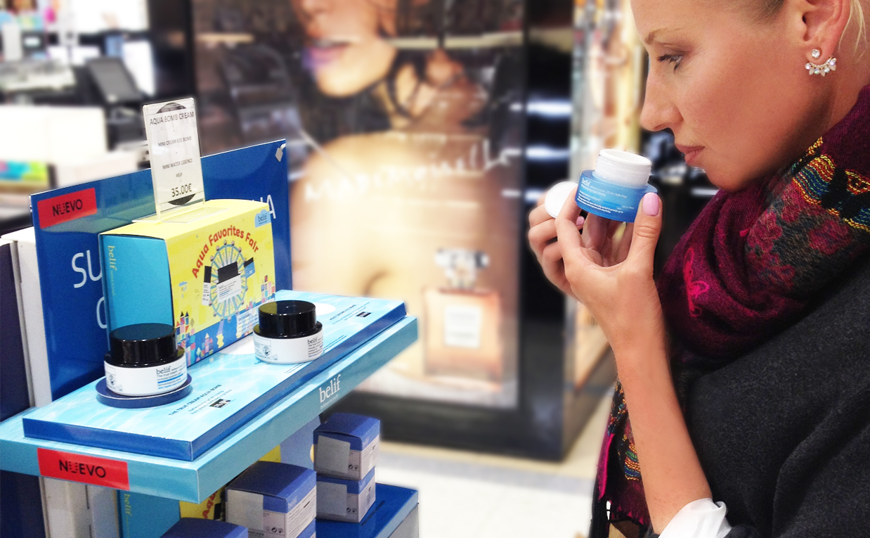 K-beauty Blog Europe in Spain El Corte Ingles All about Korean skin care and makeup