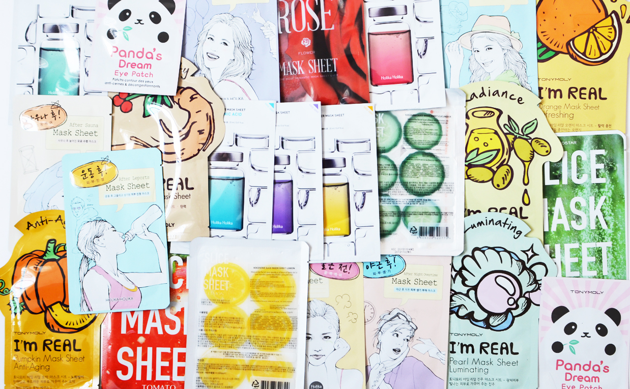 K-beauty HAUL from Spain Buy Cheap Sheet Masks from Korea Korean Skin Care K-beauty Blog Europe