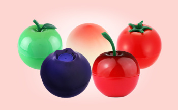 Buy Tonymoly Mini Berry Lip Balm from Korea cherry apple blueberry peach tomato k-beauty webshop