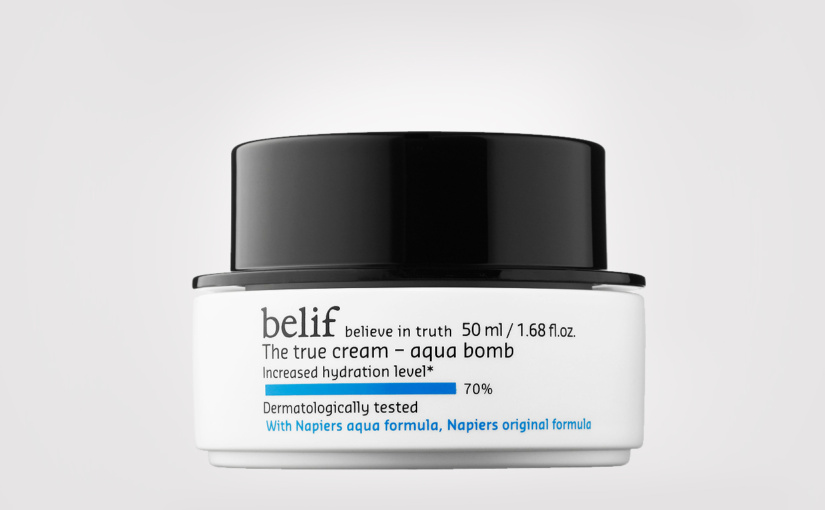 FIRST IMPRESSION: Belif The True Cream Aqua Bomb
