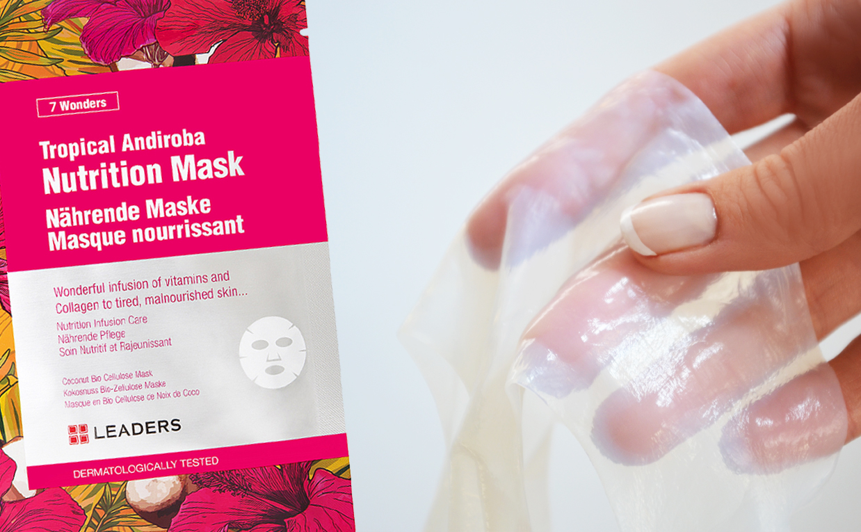 First impression review Leaders Tropical Andiroba Nutrition Mask sheet mask from Korea Korean skin care K-beauty Blog Europe