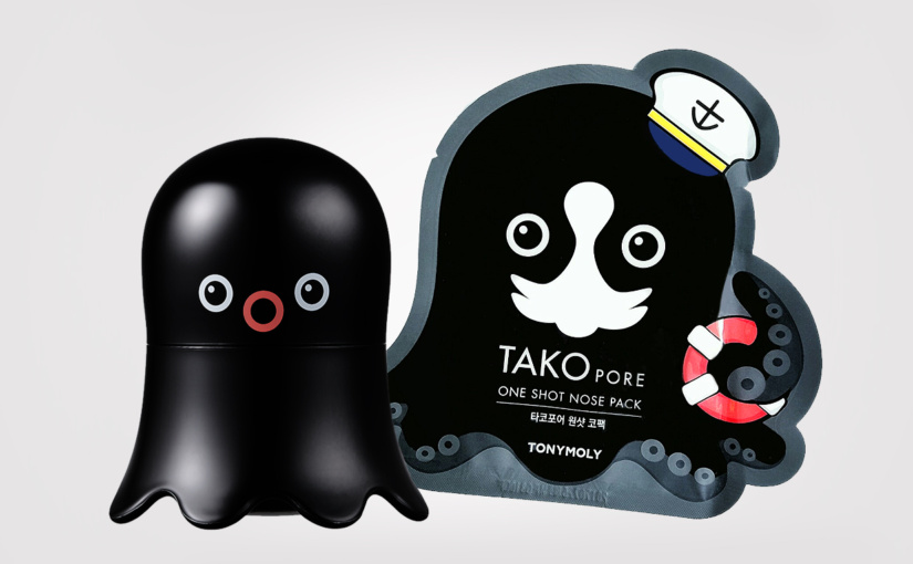 FIRST IMPRESSION: Tonymoly Tako Pore Bubble Pore Pack + Tako Pore One Shot Nose Pack