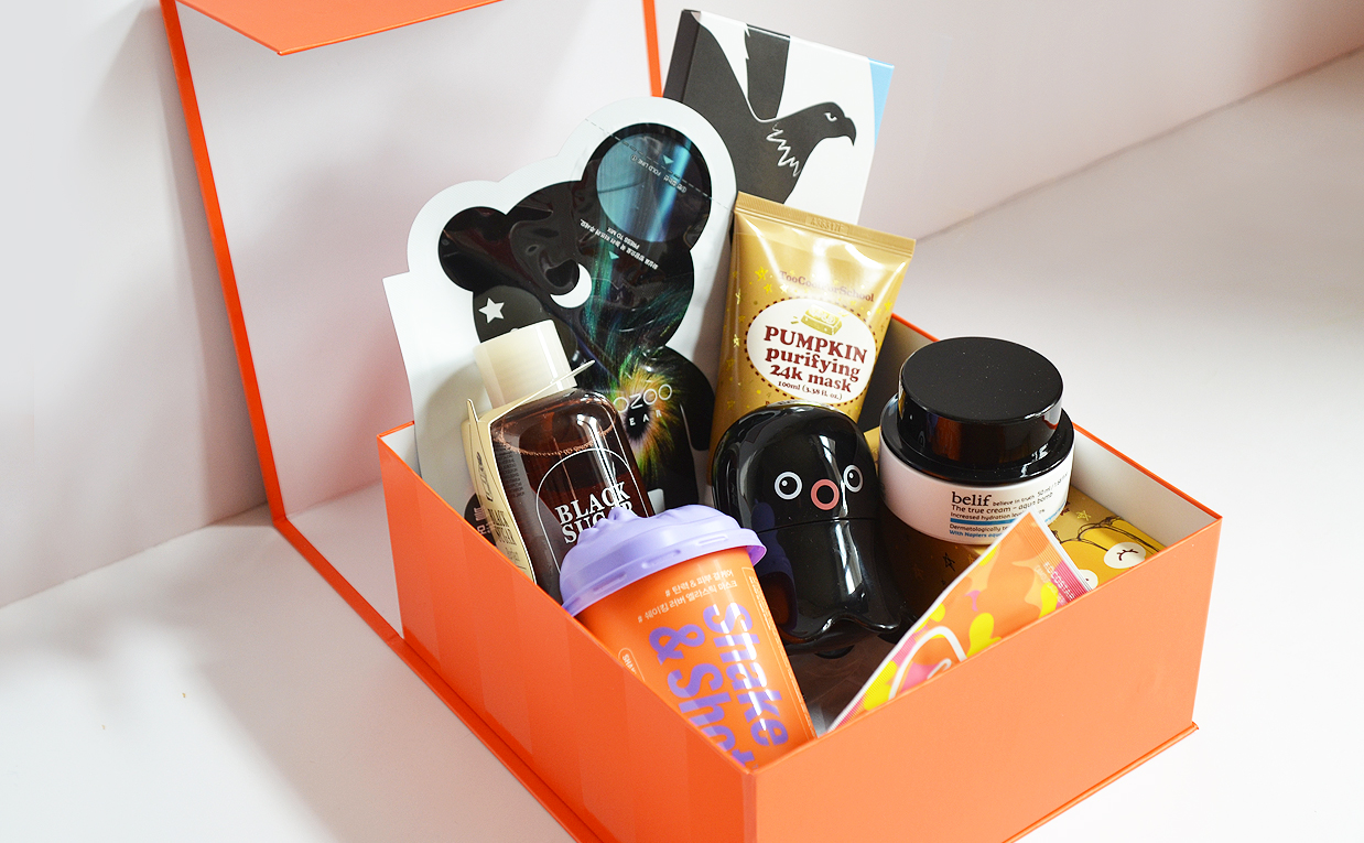 Sephora K-beauty Blog Europe Collab collaboration unboxing Korean skin care from Skinfood Belif Tonymoly Caolion Too Cool For School Dr.Jart+ and more
