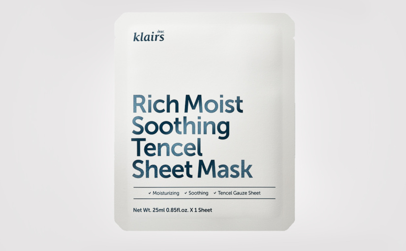 FIRST IMPRESSION: Klairs Rich Moist Soothing Tencel Sheet Mask