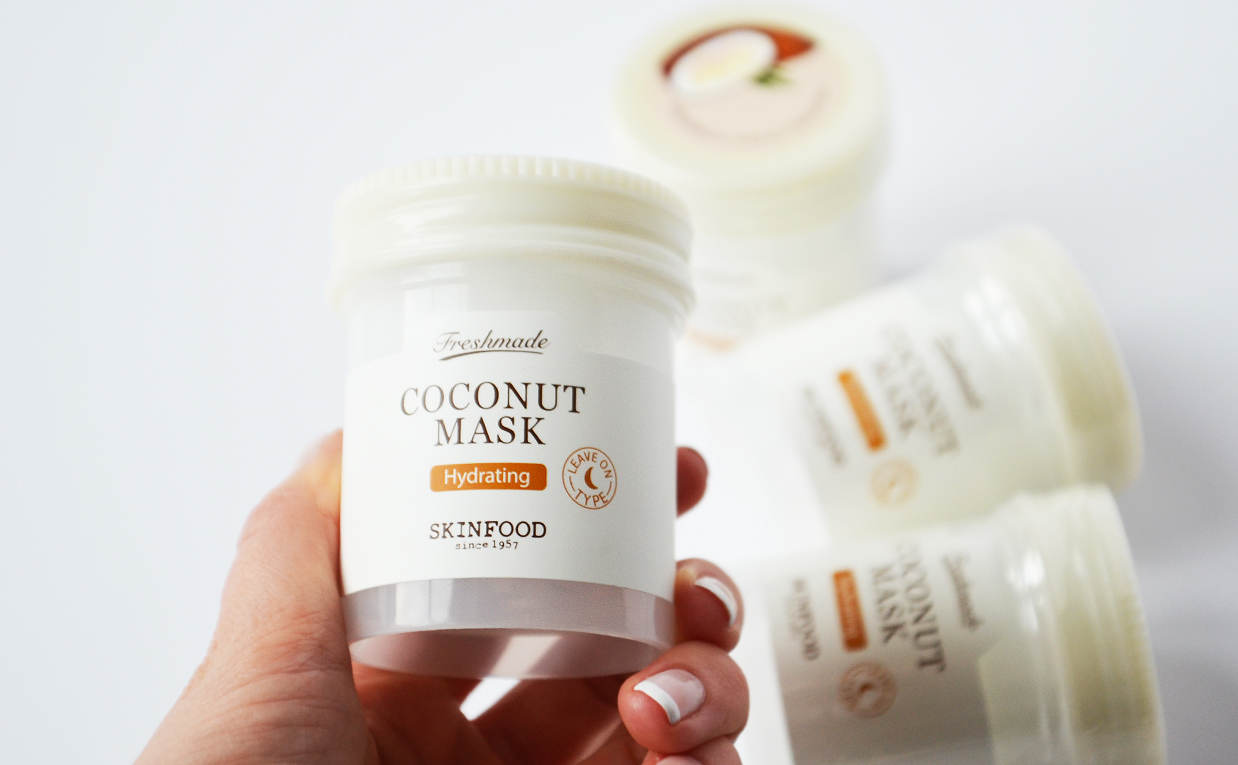 Review Skinfood Freshmade Coconut Mask Face Mask Coconut from Korea Korean Skin Care K-Beauty Blog Europe