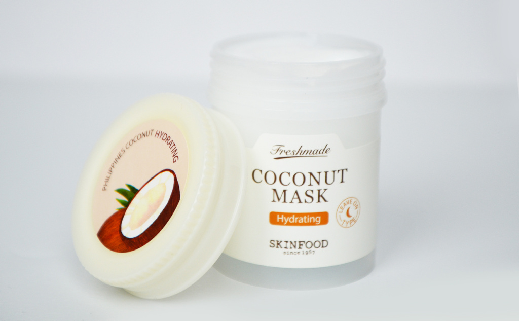 Review Skinfood Freshmade Coconut Mask Face Mask Coconut