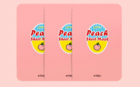 Buy A'pieu Sweet Peach Sheet Maask from Korea K-beauty webshop Korean skin care web shop