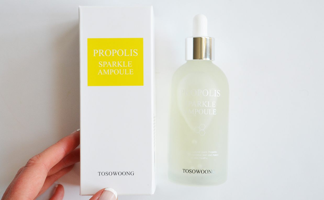 Review Tosowoong Propolis Sparkle Ampoule From Korea K Beauty Blog Pureheals 80 Cream 50ml First Impression Serum Korean Skin Care