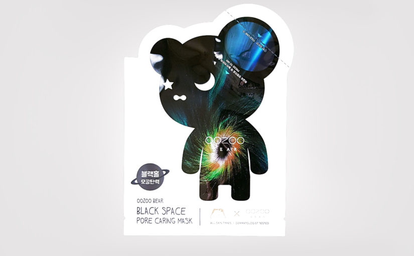 Review Oozoo Bear Black Space Pore Caring Mask Sheet Mask from Korea Korean Skin Care K-Beauty Blog Europe
