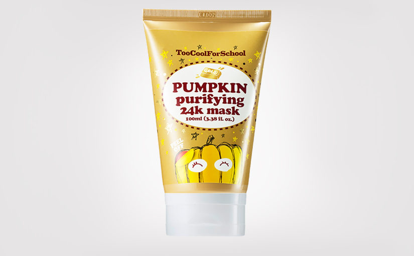 FIRST IMPRESSION: Too Cool For School Pumpkin Purifying 24K Mask