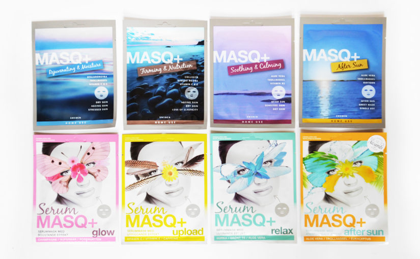 About Swedish brand MASQ+ and time to renew your skin care routine?!