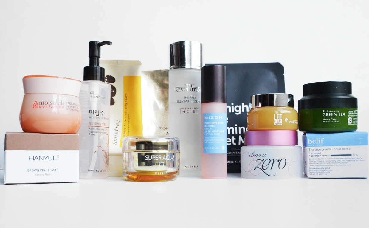 K-beauty favorites best skin care products from Korea recommended K-beauty Blog Europe