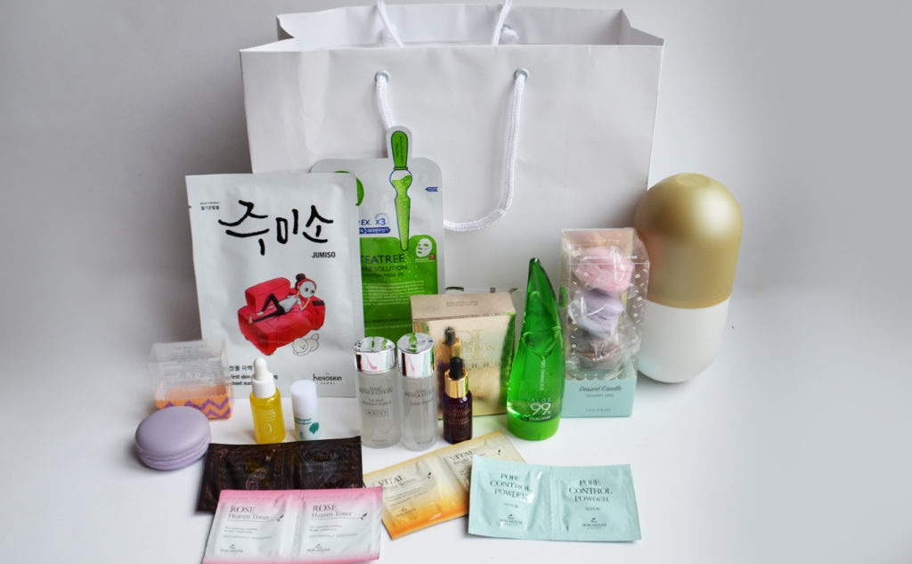 bonnybonny-kotra k-beauty event stockholm goodiebags korean skin care K-beauty Blog Europe