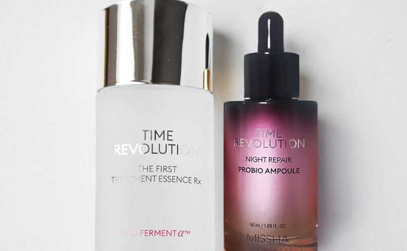 New Missha Time Revolution The First Treatment Essence RX Pro Fermented 2019 Missha Time Revolution Night Repair Probio Ampoule 2019 K-beauty Blog Europe