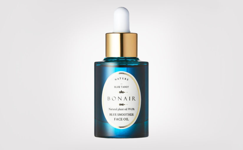 Review Bonair Blue Smoother Face Oil Natural Facial Oil from Korea Korean Skin Care K-Beauty Blog Europe