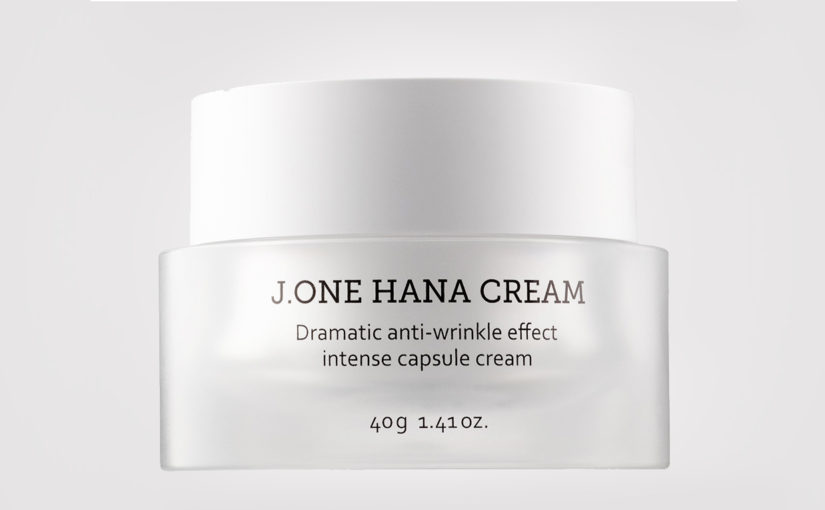 Review J.ONE Hana Cream face cream treating wrinkles anti age mature skin Korean skin care K-beauty Blog Europe
