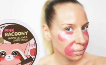 Review Secret Key Pink Racoony Hydro-gel Eye & Cheek Patch from Korea soothing eye mask redness dark circles Korean skin care K-beauty Blog Europe