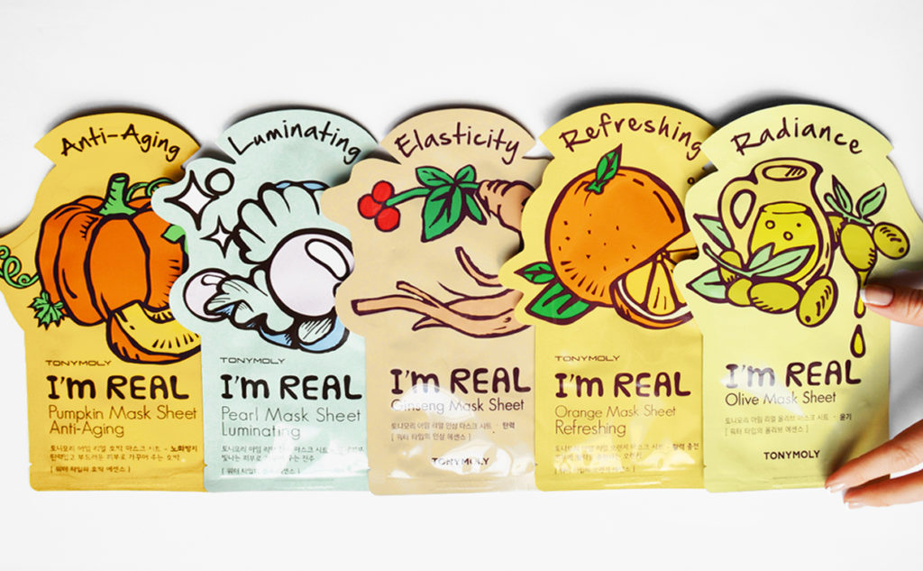 Review Tonymoly I'm Real Mask Sheet Mask face mask from Korea Korean Skin Care K-Beauty Blog Europe