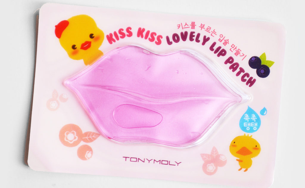Review Tonymoly Kiss Kiss Lovely Lip Patch from Korea Korean skin care lip mask K-Beauty Blog Europe