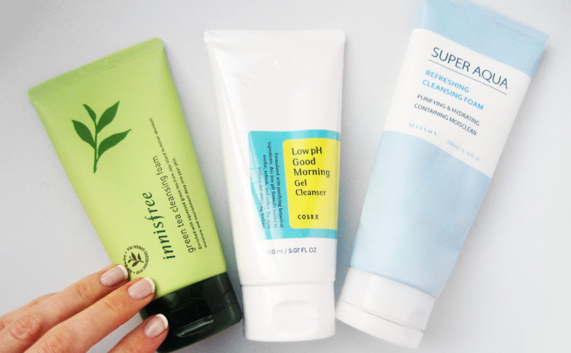 Some of the best Korean foam cleansers