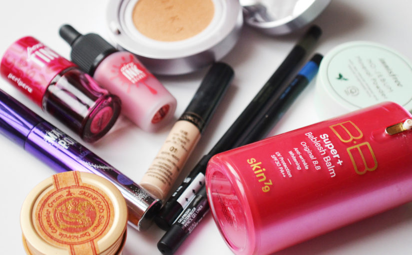 My best Korean makeup products