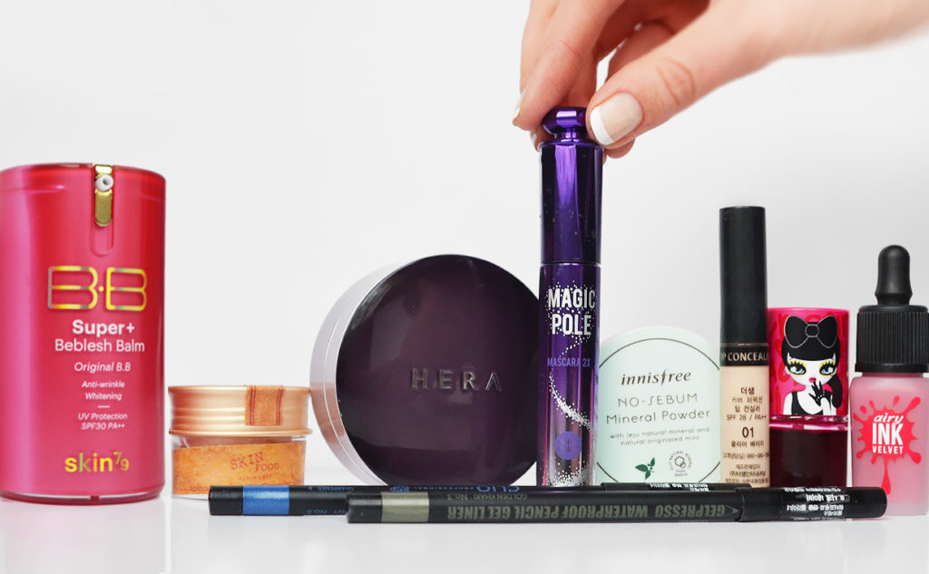 My best Korean makeup products from Korea cushion foundation blush concealer K-beauty Blog Europe